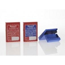 Бумага окклюзионная BK 63  40 мкм, красная/синяя, 200 полосок